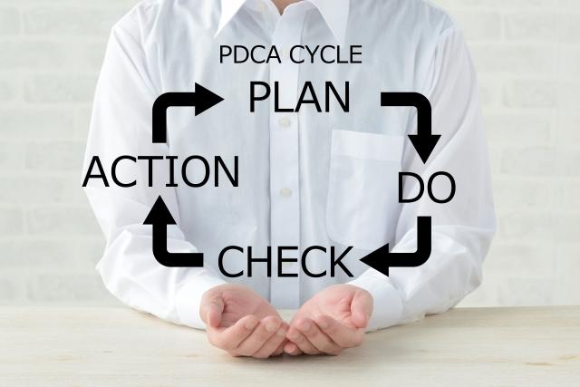 サロンにおける税務・経理のPDCAサイクル
